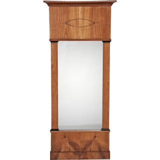 Biedermeier Birch Mirror