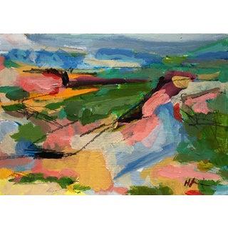 Acrylic Landscape Painting by Heidi Lanino