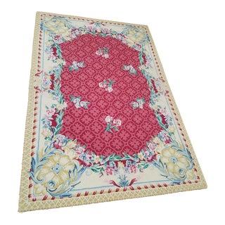 Floral Stark Carpet - 4' x 6'