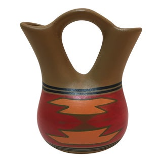 Sioux Two-Spout Ceramic Jug