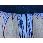 Image of Antique Chieftain Tribal Cape Textile Pillow
