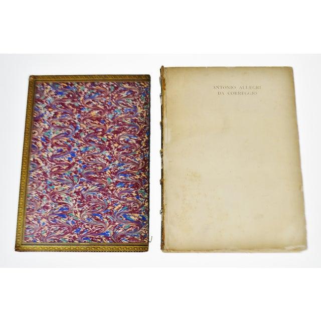 """1896 Antique """"Da Correggio Antonio Allegri Da Correggio His Life, His Friends, And His Time"""" Book - Image 7 of 10"""