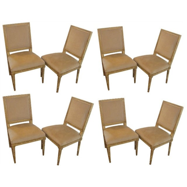 Nancy Corzine Dupuy Dining Chairs - Set of 8 - Image 1 of 10