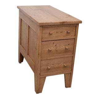 Pine Side Chest of Drawers