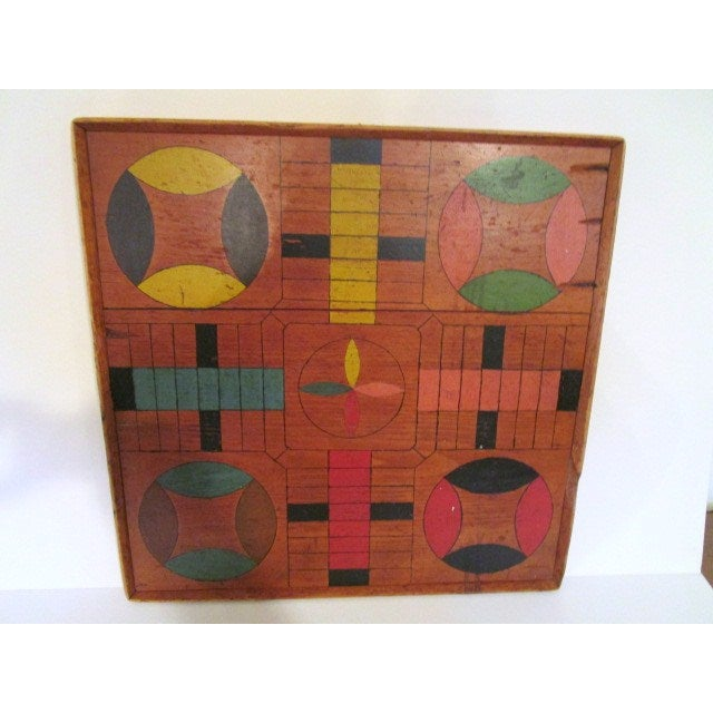 Image of Home Made Parcheesi Board
