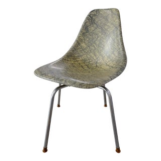 Molded Eames Style Fiberglass Side chair