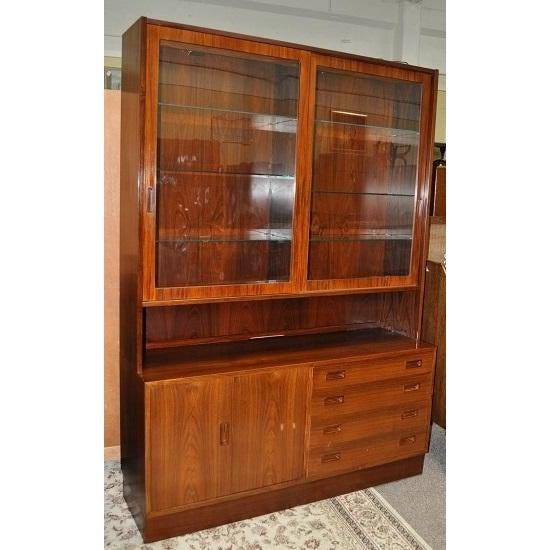 Image of Danish Rosewood Cabinet Circa 1960's