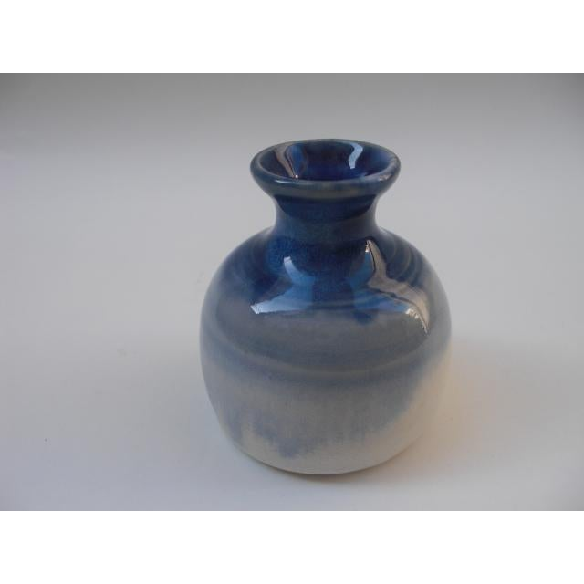 Cobalt Blue Gradient Studio Pottery - Image 3 of 5