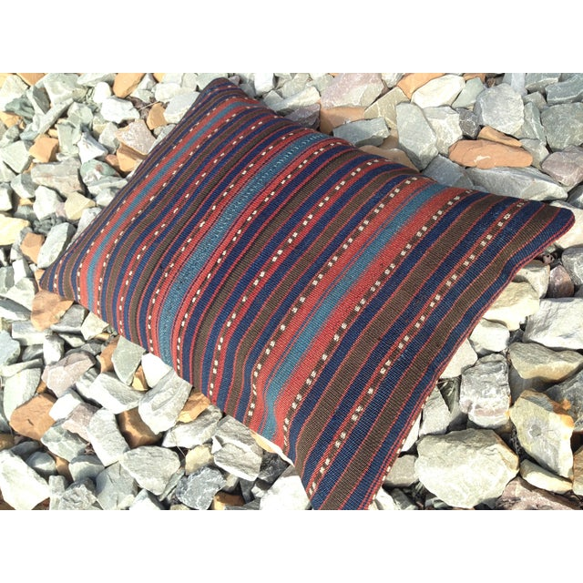 Decorative Anatolian Kilim Pillow - Image 3 of 8