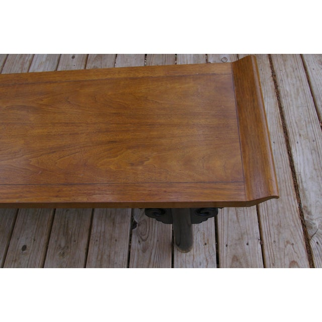Baker Furniture Midcentury Japanese Low Table - Image 4 of 6