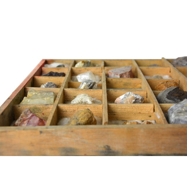 Image of Vintage Mineral Specimen Collection