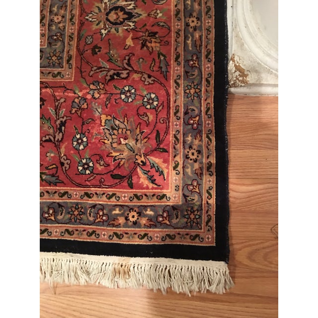 "Vintage Persian Area Rug - 9'x12'7"" - Image 8 of 11"