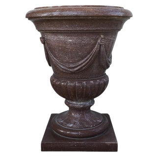 20th Century Marble Urn Form Base