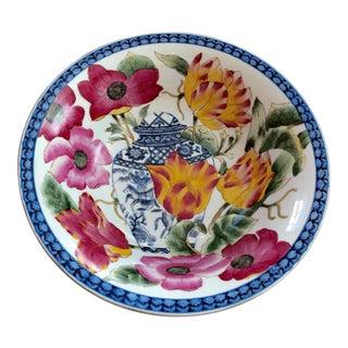 Handpainted Floral Bowl
