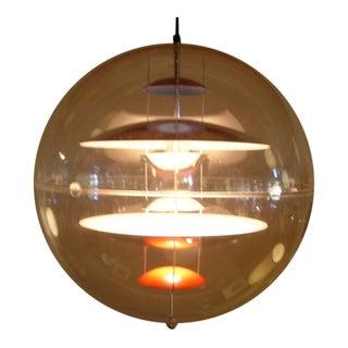 Vintage Louis Poulsen for Verner Panton Globe Lamp