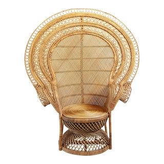 Grand Natural Peacock Chair