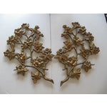 Image of Gold Cherry Blossom Wall Hanging - Pair