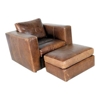 HD Buttercup Lounge Chair & Ottoman