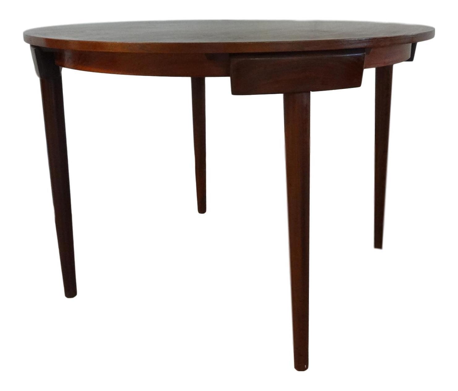Danish Dining Table By Hans Olsen For Frem Rojle   Image 1 Of 11