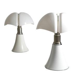 Pair of Gae Aulenti Pipistrello Table Lamps