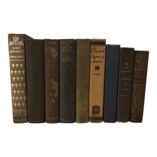 Designer Historical World Leader Books - Set of 9