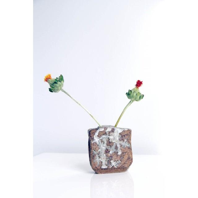 Handmade Japanese-Style Square Bud Vase - Image 2 of 5