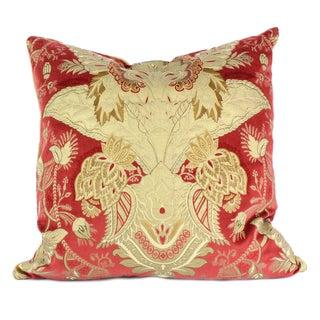 Italian Velvet Damask Pillow
