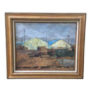 William Davis Oil on Canvas Framed