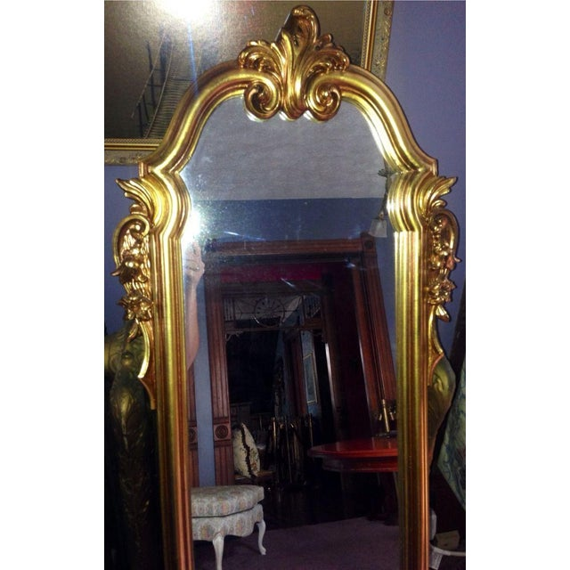 Vintage Full Length Gold Gilt Wall Mirror Chairish