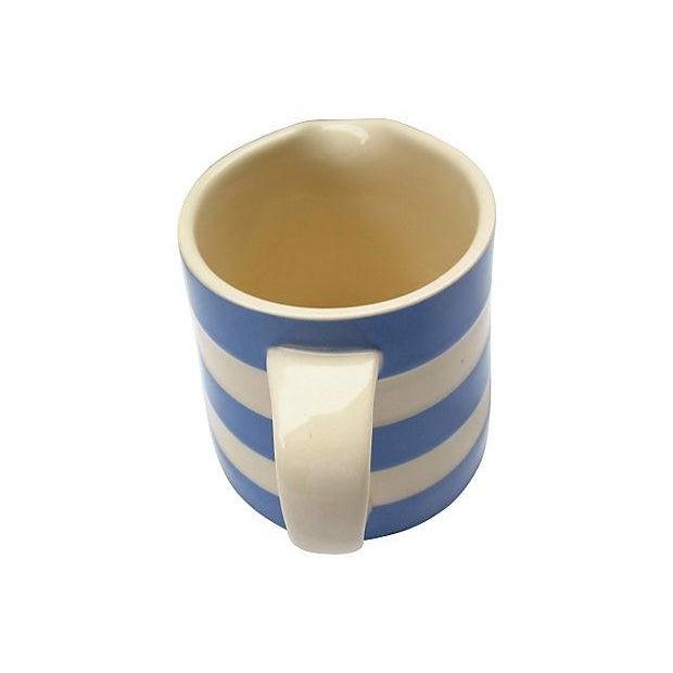 English Cornishware Cream Jug - Image 2 of 4