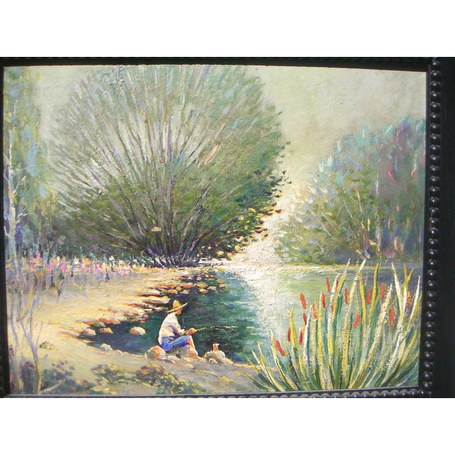 Image of Oil Painting - Modernist Landscape by Bottsford