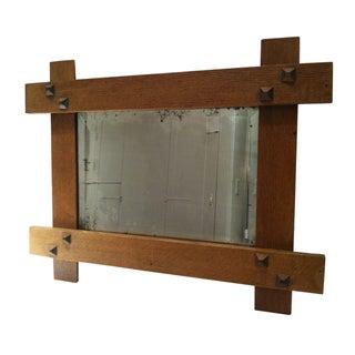 Craftsman Wood Mirror