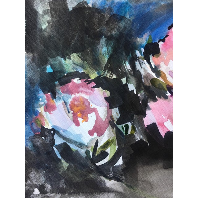 Blossoming #11 Original Painting - Image 4 of 5