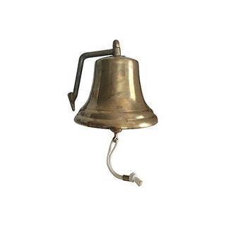 "8"" Italian Brass Ship's Bell"