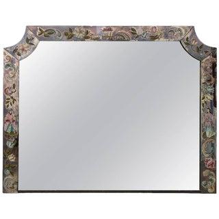 Vintage 1930s Chinoiserie Mirror