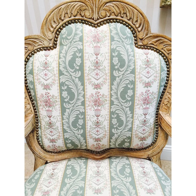 Traditional French Accent Chairs - A Pair - Image 5 of 5