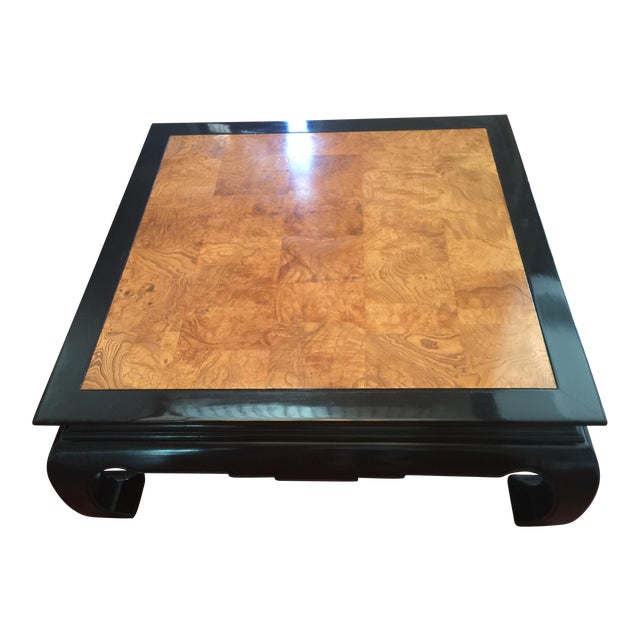 Ethan Allen Chinoiserie Coffee Table - Image 1 of 10