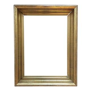 19th Century Gold Leaf Frame