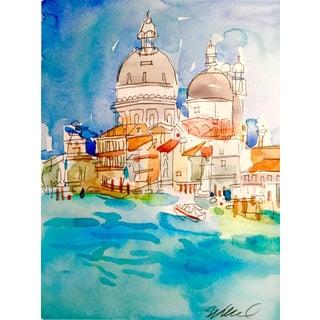 Original Venice Watercolor Painting