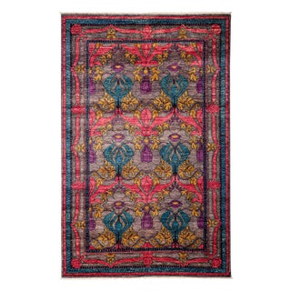 "Arts & Crafts, Hand Knotted Area Rug - 5'1"" X 7'9"""