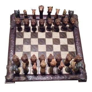 Safari Chess Set