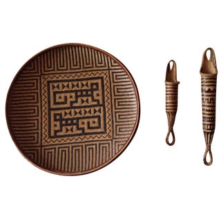 Native Yekuana Handwoven Tribal Art - Set of 3