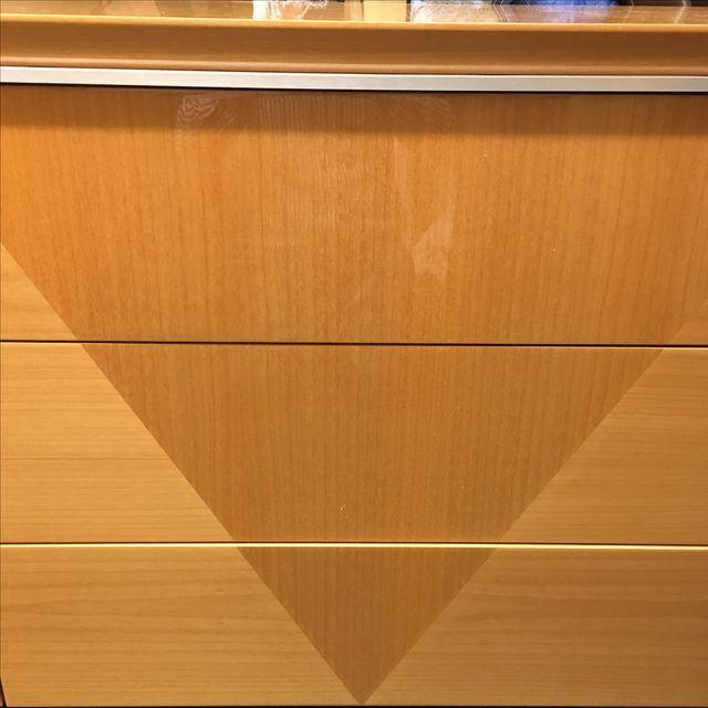 Giorgio Collection Parquet Dresser with Mirror - Image 3 of 10