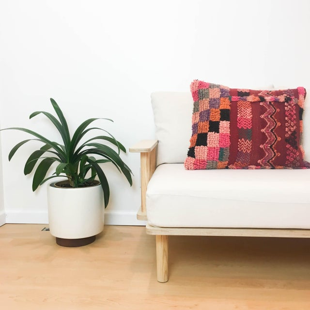 Vintage Moroccan Berber Pillow - Image 3 of 4