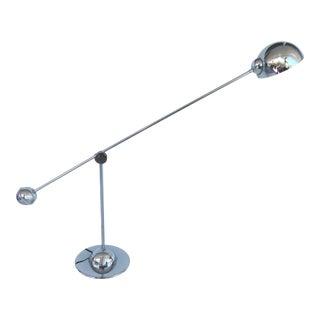 Mid-Century Modern Chrome Desk Lamp