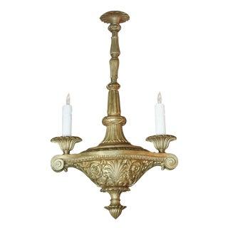 French Heavy Bronze Chandelier