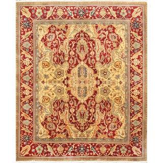 Pasargad Crown Jewel Agra Wool Rug - 8′ × 9′10″