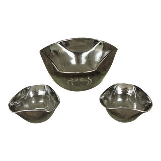 Vintage Dorothy Thorpe Chip and Dip Bowls - 3