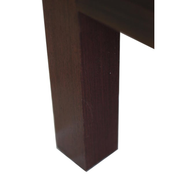 Spencer Fung Custom Wenge Wood Coffee Table - Image 3 of 9