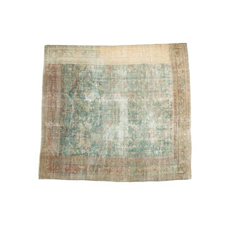 "Antique Mahal Square Carpet - 9'10"" x 10'9"""